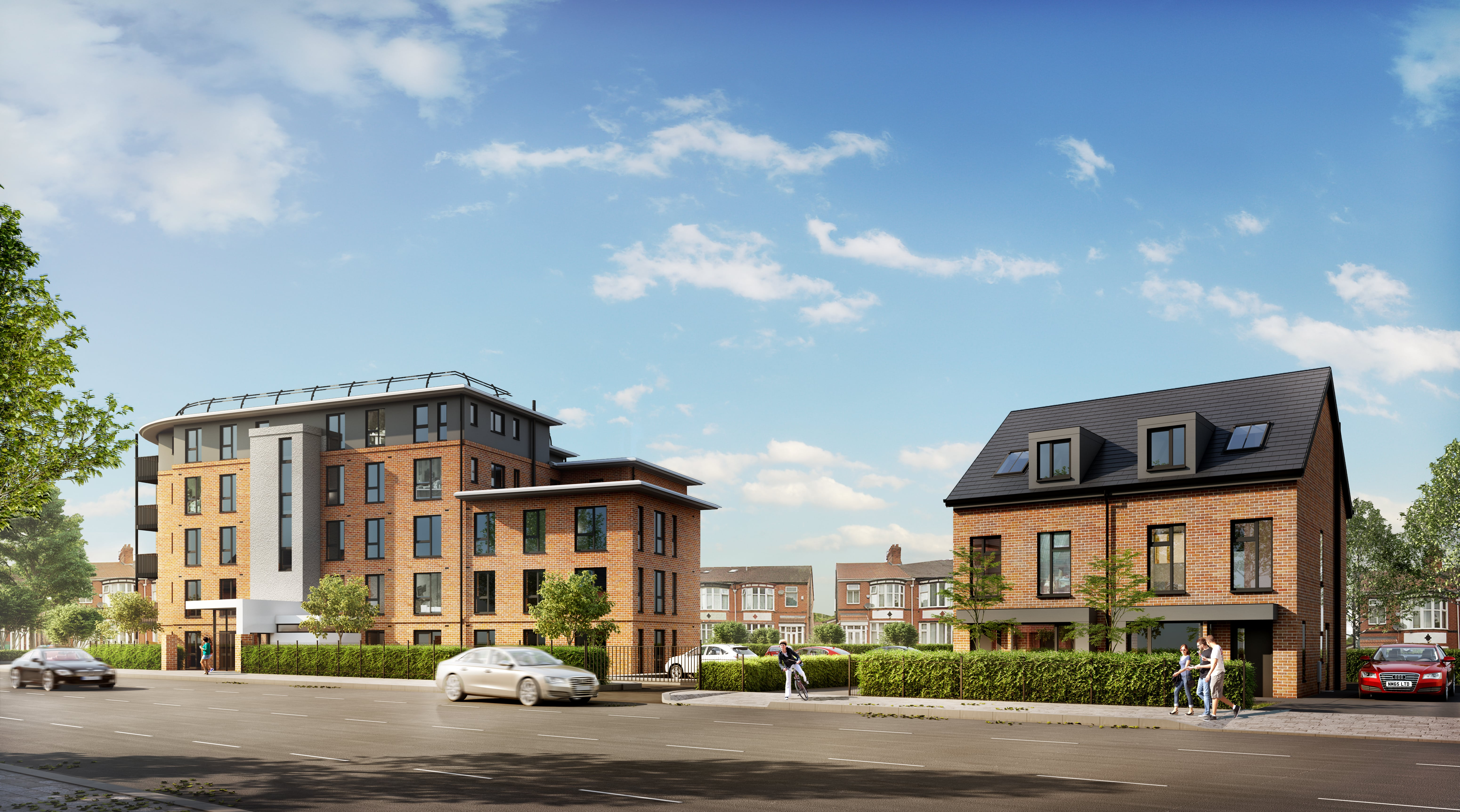 residential property visualisation - apartment- altrincham